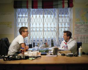 Die beiden Gründer von Escape the city Rob Symington (links) und Dom Jackman