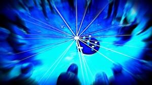 Gruppe mit Gruppenintelligenz-Barometer