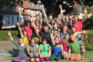 Teilnehmende des S3-Workshops in Brück. © Malte Cegiolka